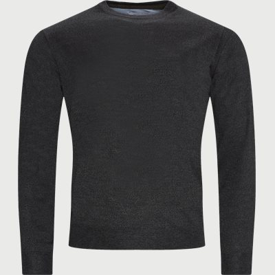 Lipan Striktrøje Regular | Lipan Striktrøje | Grå